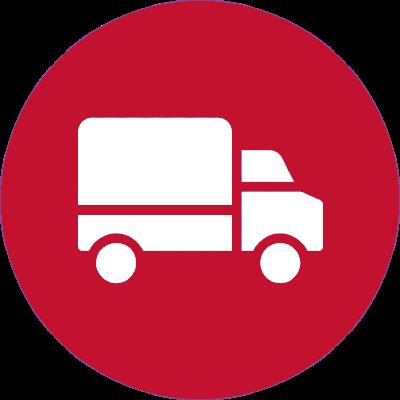 Caminhão de Entregas Branco - Entregas para todo o Brasil
