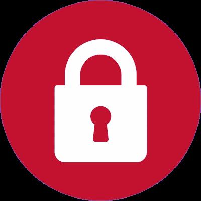 Cadeado Branco - Compre Compre com Segurança